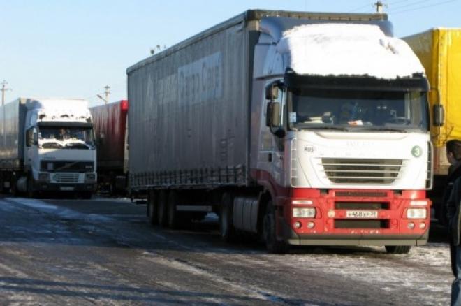 В Самаре бастуют водители большегрузов