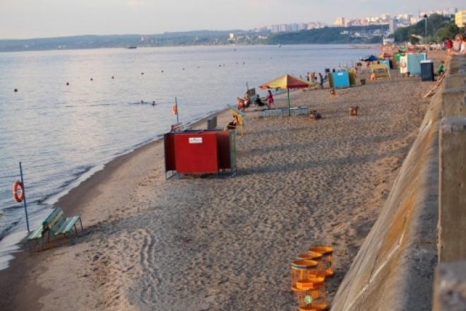 В Самаре понизилась температура воды реки Волги