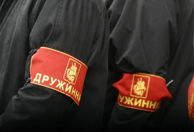 Самарским дружинникам платят за дежурство с полицией