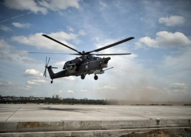 Экипаж вертолета Ми-28Н потерпел крушение над Сирией