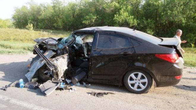 В Самарской области произошло тройное ДТП - водителю Hyundai стало плохо