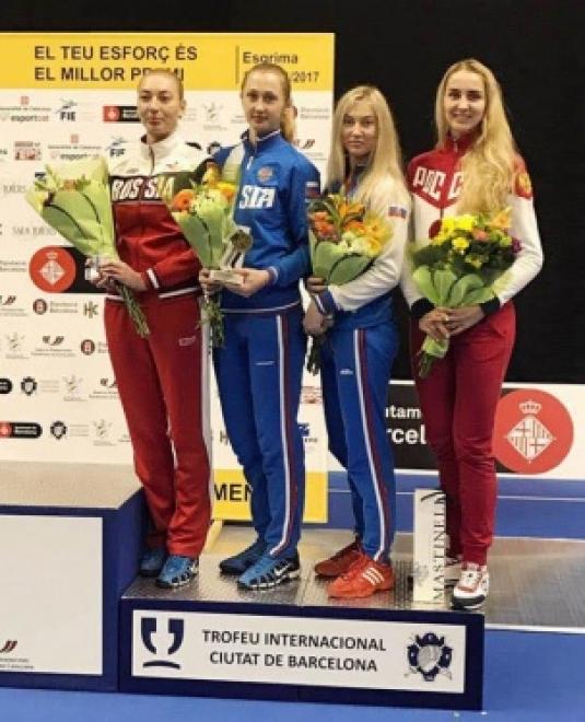 Фехтовальщица из Самары получила бронзу на этапе Кубка Мира в Испании