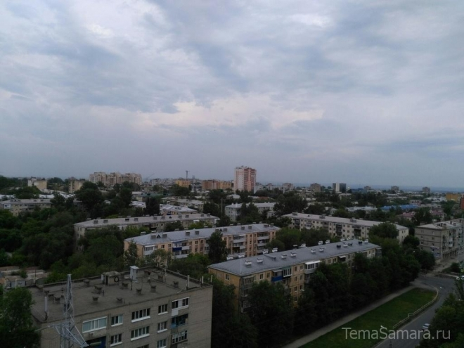 В Самарской области предупреждают об ухудшении погоды