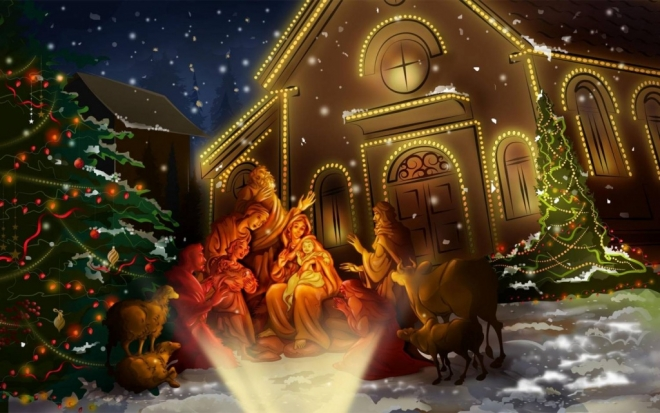Православные верующие готовятся встретить Рождество