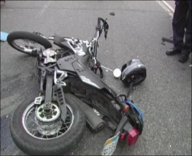 В Тольятти мотоциклист сбил малыша на тротуаре