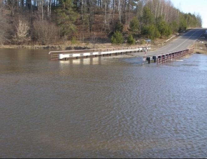 В Самарской области затопленными оказались два моста