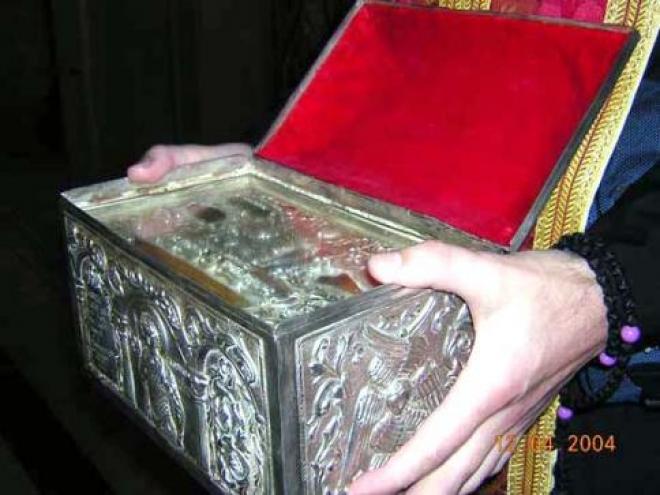 Ковчег с частицами мощей святых воинов привезут в «Дзержинку»