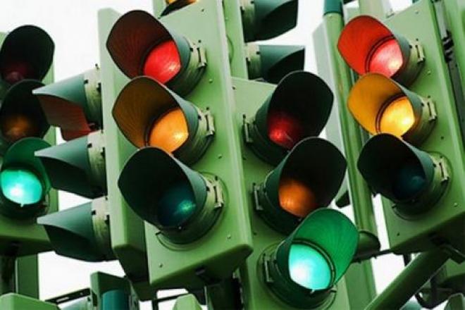 В Самаре на кольцевой развязке светофоры работают в тестовом режиме