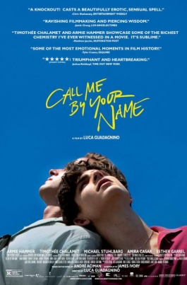 AmFest-2017: Зови меня своим именемCall Me by Your Name постер