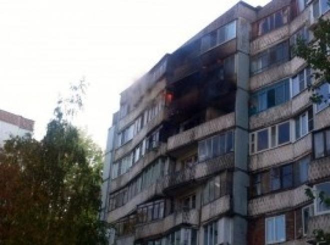 Ночью в Самаре при пожаре на ул. Товарной эвакуировали 17 человек