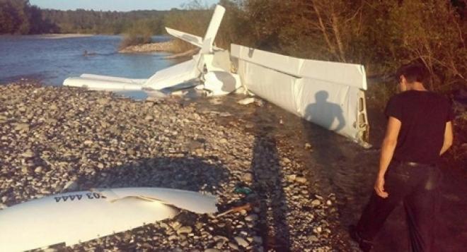 В Абхазии при крушении самолёта погиб самарец