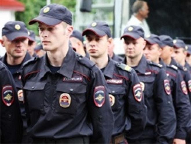 Cмотр нарядов полиции перенесли из-за погоды