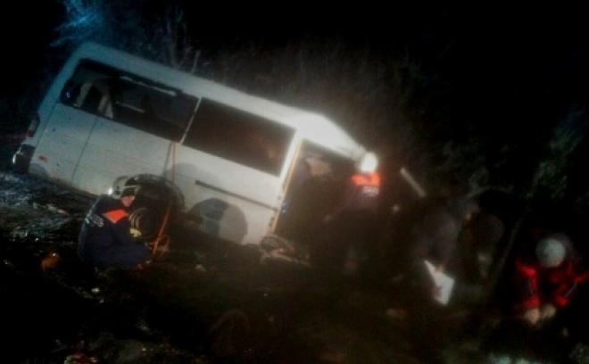 В Марий Эл при столкновении маршрутки с лесовозом погибли 15 человек